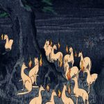 三本枝のかみそり狐