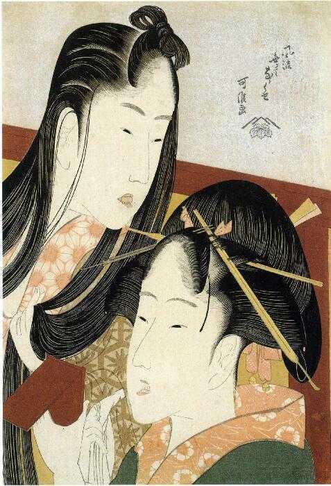 葛飾北斎(可侯)「風流無くてななくせ ほおずき」