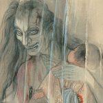 怪談乳房榎(二)四谷十二社滝の亡霊